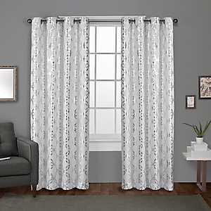 White Modo Curtain Panel Set, 108 in.