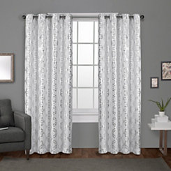 White Modo Curtain Panel Set, 108 in.