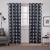 Blue Modo Curtain Panel Set, 108 in.