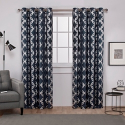Blue Modo Curtain Panel Set, 108 in.