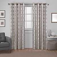 Beige Modo Curtain Panel Set, 108 in.