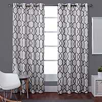 Gray Kenzie Curtain Panel Set, 108 in.