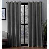 Gray Landry Curtain Panel Set, 108 in.