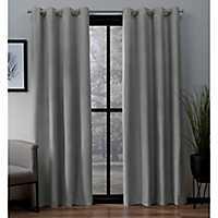 Light Gray Landry Curtain Panel Set, 108 in.