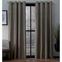 Brown Landry Curtain Panel Set, 108 in.