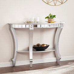 Kacee Mirrored Console Table