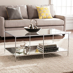 Phoebe Mirrored Coffee Table