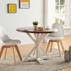Eden Round Trestle Dining Table