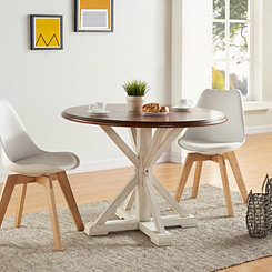 Eden Round Trestle Dining Table