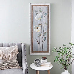 Neutral Anemone Branches I Framed Art Print