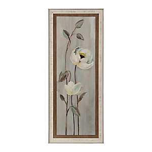 Neutral Anemone Branches II Framed Art Print