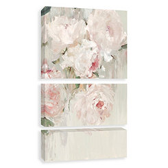Big Bouquet Canvas Art Prints, Set of 3