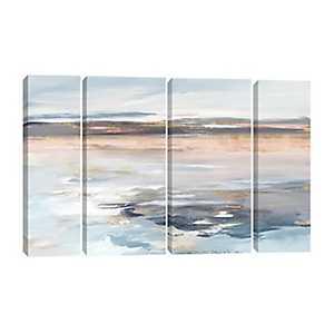 Beyond the Sea Canvas Art Prints, Set of 4