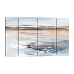 Beyond the Sea Canvas Art Prints, Set of 4