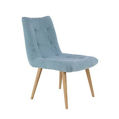Turquoise Mid-Century Dining Chair