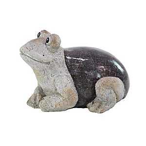 Sitting Frog Garden Statue