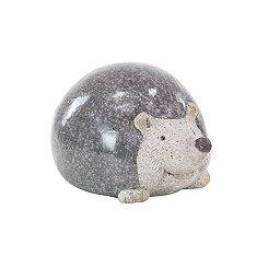 Round Hedgehog Garden Statue