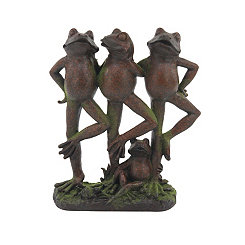 Dancing Frogs Statue