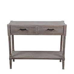 Winter Melody Wooden Console Table