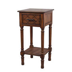 Honeynut 1-Drawer Accent Table