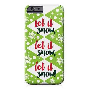 Let It Snow iPhone 6/6S Case