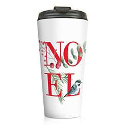 Noel Holly Travel Mug