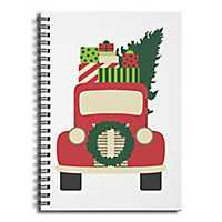 Vintage Christmas Truck Spiral Notebook