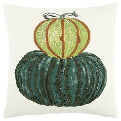 Stacked Pumpkins Pillow