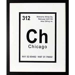 Breaking Chicago Framed Art Print