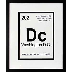 Breaking Washington D.C. Framed Art Print