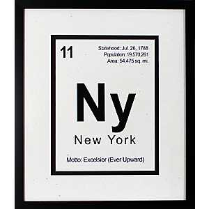Breaking New York Framed Art Print