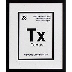 Breaking Texas Framed Art Print