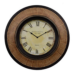 Henry Walnut Wall Clock