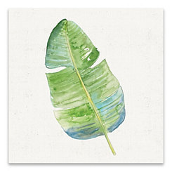 Tropical Leaf I Canvas Art Print