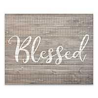 Blessed Wooden Art Print
