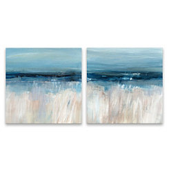 On the Severn Canvas Art Prints, Set of 2