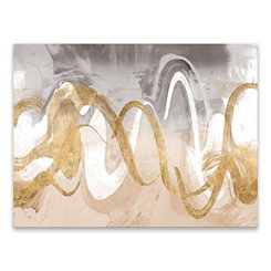 Infinite Swirl Canvas Art Print