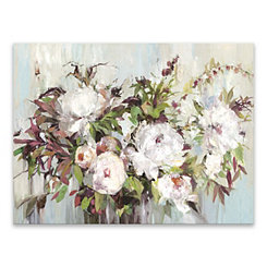 Soft Posy Canvas Art Print