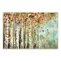 Aspen Strokes Canvas Art Print