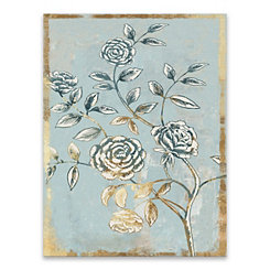Pale Damask Canvas Art Print