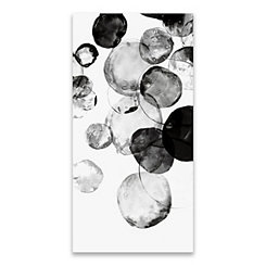 Black Rings Canvas Art Print