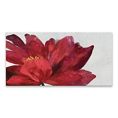 Passionate Flower Canvas Art Print