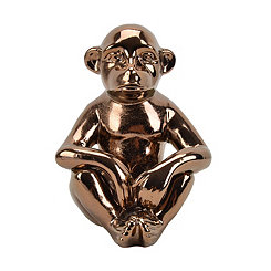 Bronze Ceramic Monkey Statue