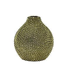 Decorative Ceramic Gold Vase