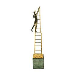 Climbing the Ladder Sculpture