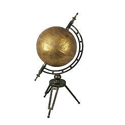Bronze Globe on Stand