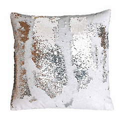 Metallic Sequin Pillow