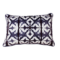Blue Shibori Pillow