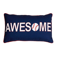 Awesome Baseball Pillow