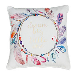 Dream Big Feather Pillow